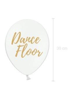 Ballon Blanc Dance Floor Mariage