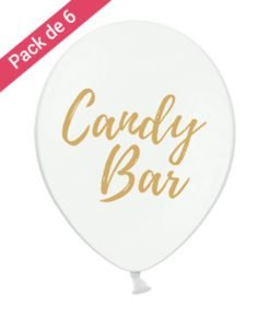 Ballons pour Candy Bar Mariage