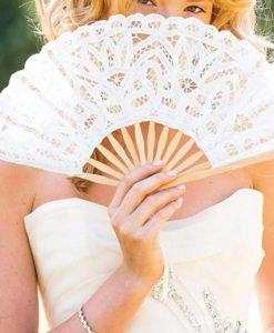 Eventail de la mariée