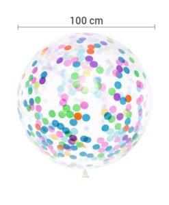 Ballon XXL Confettis Mix