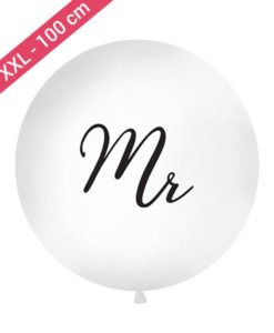 Ballon XXL Mr Noir