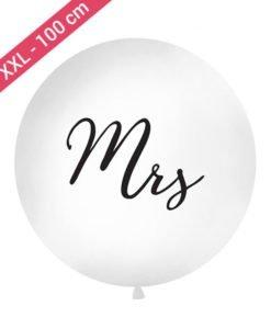 Ballon XXL Mrs Noir
