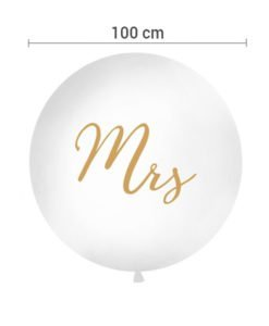 Ballon XXL Mrs Or