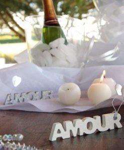 Lettres Amour Bois