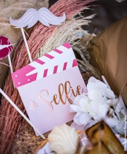 Photobooth Mariage Rose Gold