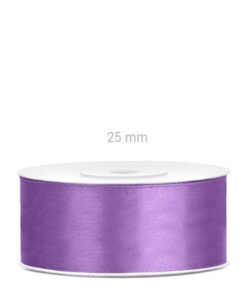 Ruban Satin Violet 25 mm