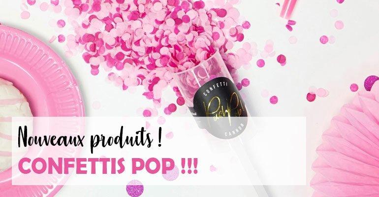 Actu Confettis Pop