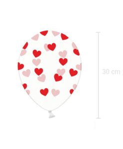 Ballons Coeurs Rouges