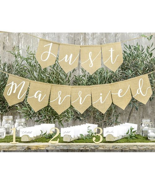 Guirlande Juste Married Jute