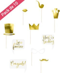 Photobooth Mariage Or Gold