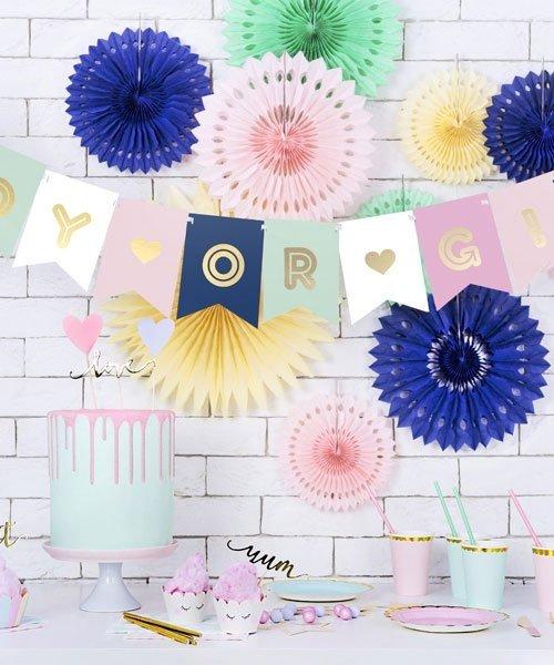 Banderole BOY OR GIRL pour décoration