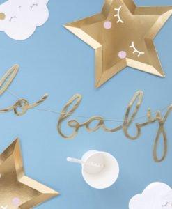 Banderole Lettres Hello Baby