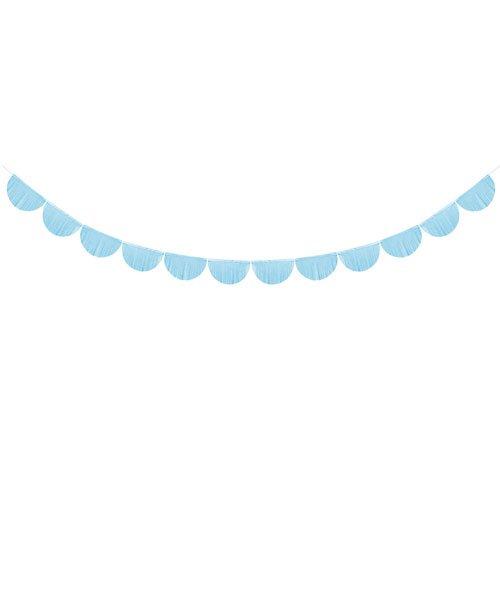 Guirlande Demi Lune Bleue