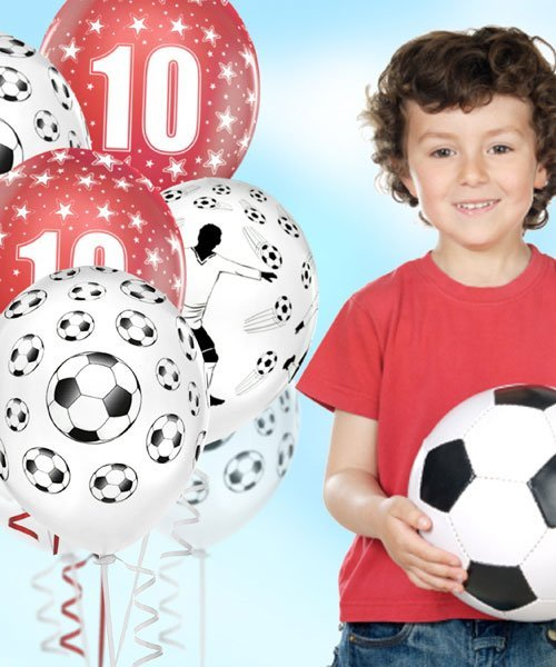 Ballon Anniversaire Football