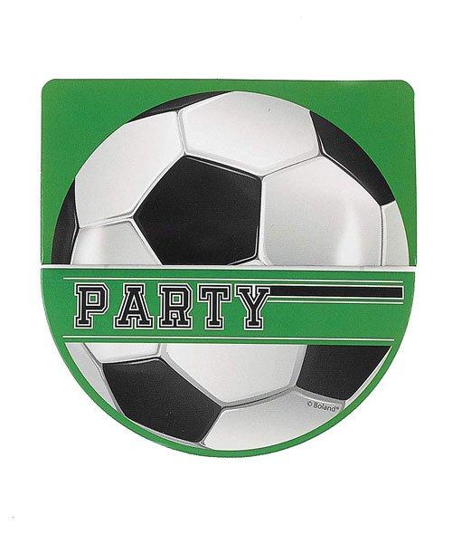 6 Cartes D Invitation Ballon De Foot Olili