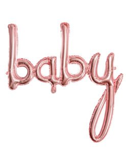 Ballon Baby Couleur Rose Gold Baby Shower