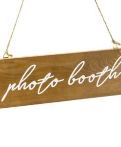 Pancarte Bois Photobooth
