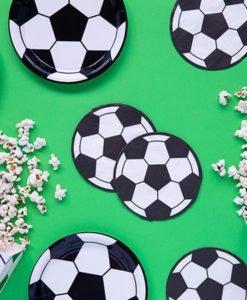 serviettes papier ballon de foot