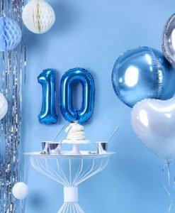 Ballon Chiffre 1 Bleu