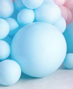 Ballon XL Bleu de 60 cm