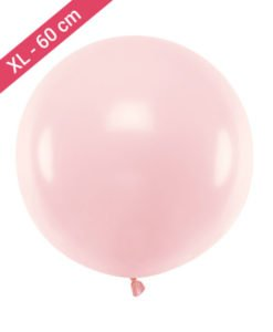Ballon XL Rose de 60 cm