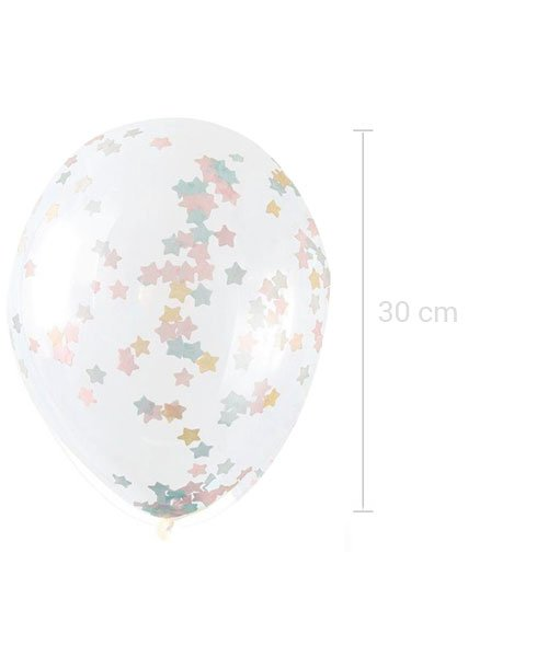 Ballons Confettis Etoiles Twinkle