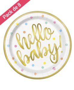 Assiettes Hello Baby