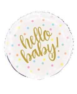 Ballon Alu Hello Baby