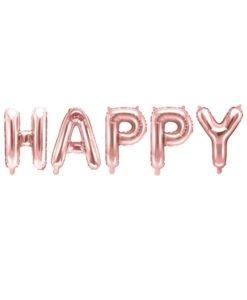 Ballons Lettres Happy Birthday