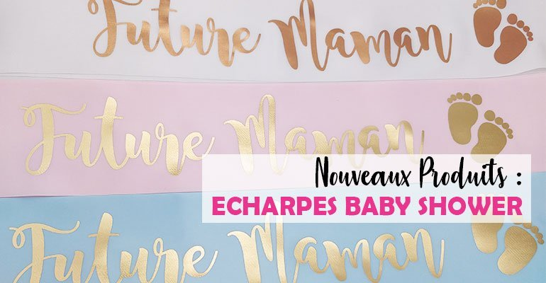 Echarpes Pour Baby Shower
