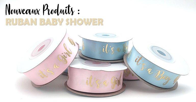 Rubans Olili pour Baby Shower