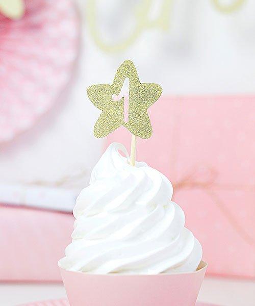 Pics Cupcake Doré 1 an