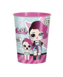 Tasse Plastique Poupee LOL Anniversaire