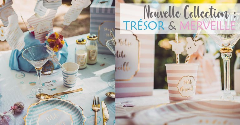 Collection Tresor & Merveille Baby Shower