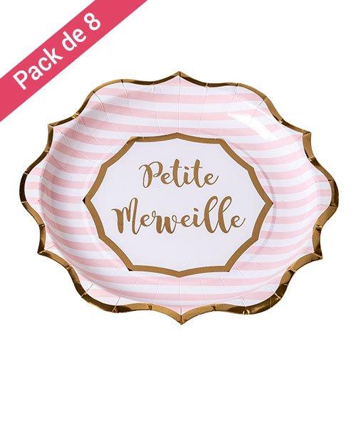 Assiettes Petite Merveille