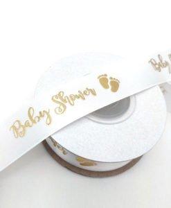 Ruban Blanc Baby Shower