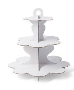 Stand à cupcake Blanc