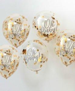 Ballons Confettis Oh Baby