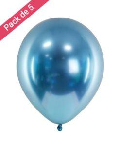 Ballon Bleu Anodisé