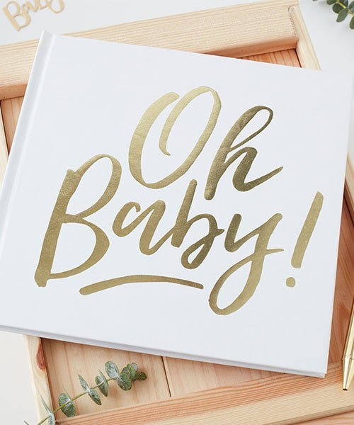 Livre d'Or Baby SHower Oh Baby