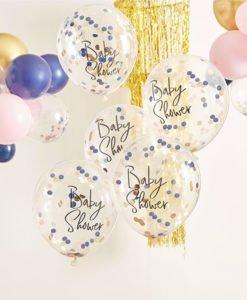 Ballons Confettis Gender Reveal