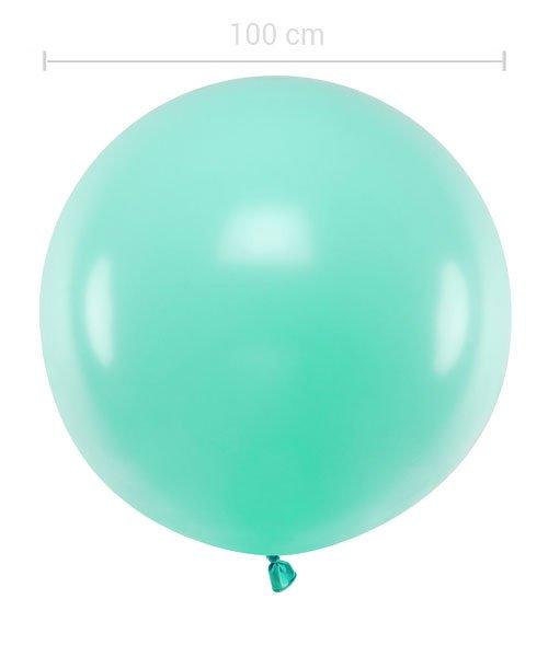 Ballon XXL 100 cm Green Mint