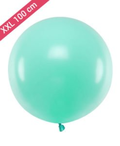Ballon XXL 100 cm Green Mint