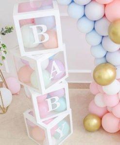 Boites BABY Deco Baby Shower