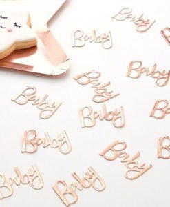 Confettis de Table Baby Rose Gold - Collection Oh Baby !