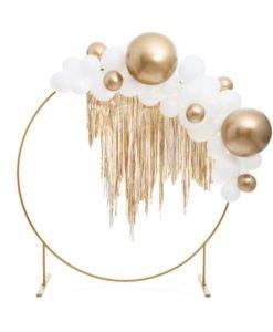 Ballon XL 60 cm Or Glossy