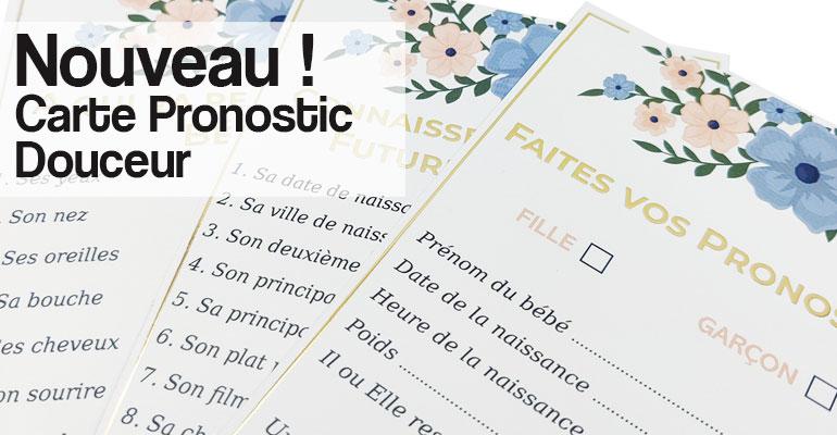 Cartes Pronotics Douceur