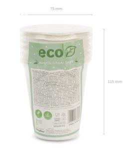 Gobelets Ecologique Fibre Canne à Sucre
