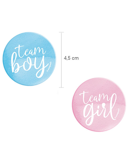 Badge pour Gender Reveal Baby Shower