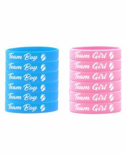 Bracelets Latex pour Gender Reveal